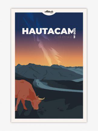 Affiche Hautacam Pyrénées