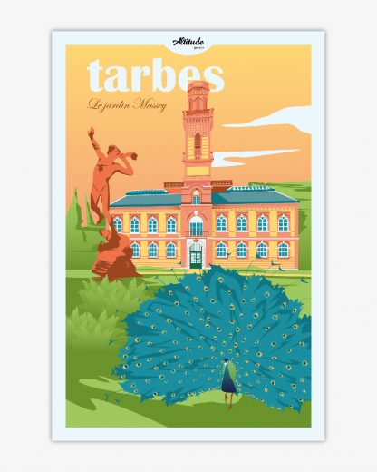 Affiche Tarbes Pyrénées