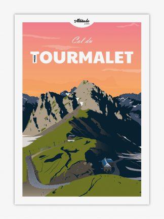 Carte postale Col du Tourmalet Pyrénées