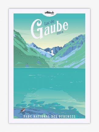 Carte postale Lac de Gaube Pyrénées