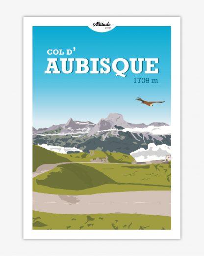 Carte postale Col d'Aubisque Pyrénées