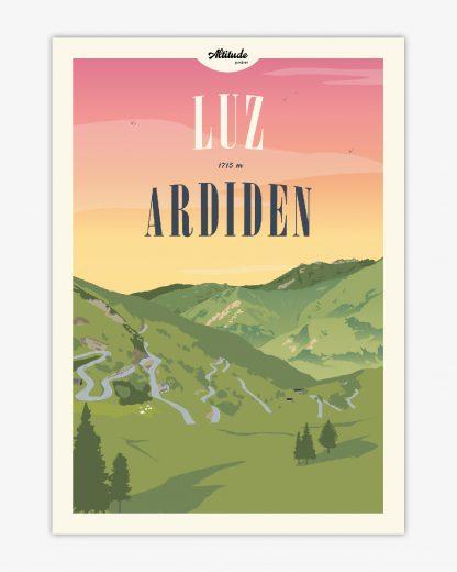 Carte postale Luz-Ardiden Pyrénées