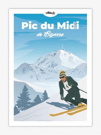 Carte postale Pic du Midi de Bigorre Pyrénées