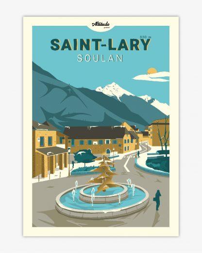 Carte postale Saint-Lary-Soulan Pyrénées