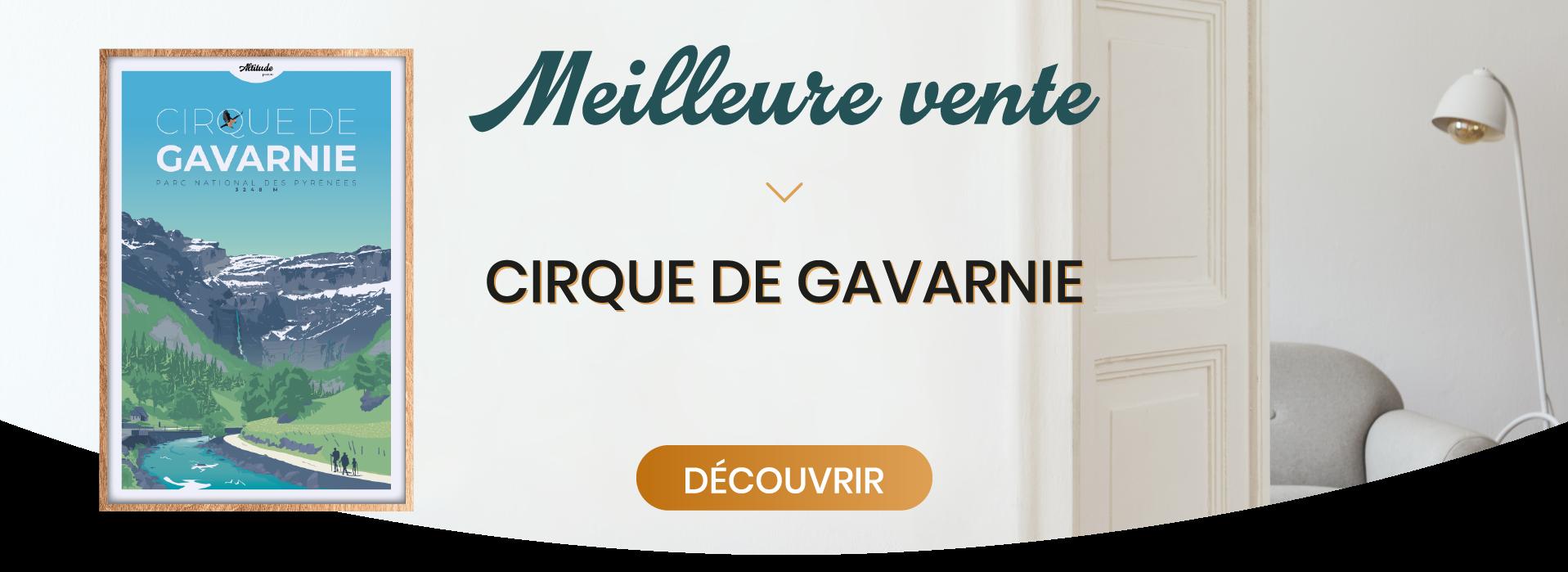 Slider Meilleure Vente Affiche Cirque de Gavarnie